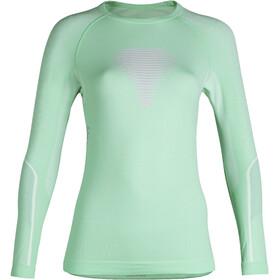 UYN Visyon UW Koszulka z długim rękawem Kobiety, aqua/pink/pearl grey